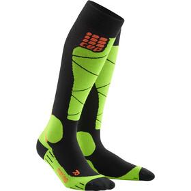 cep Merino Ski Socks Herren black/lime